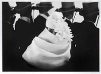 givenchy hat (b), jardin des modes, paris by frank horvat