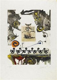 memories of surrealism (7 works) by salvador dalí