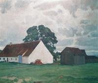 Country farmhouse, 1918