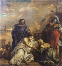 scène de sacrifice by willem doudyns