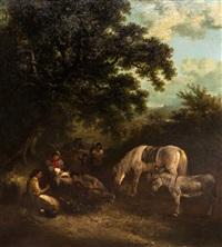 gypsy camp by edward robert smythe