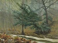 winter landscape by ira mcdade