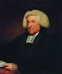 portrait of the rev. jacob bryan, rector of kilrush, in the diocese of meath by gilbert stuart