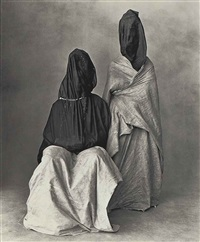 2 guedras by irving penn