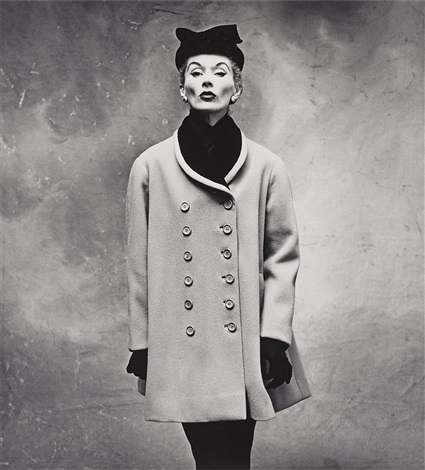 balenciaga little great coat lisa fonssagrives penn paris by irving penn