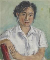 female portraiture by lin dachuan