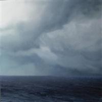ocean (violet green blue) no 57 by chris langlois