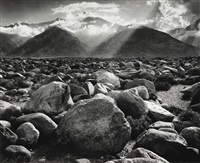mt. williamson, sierra nevada by ansel adams