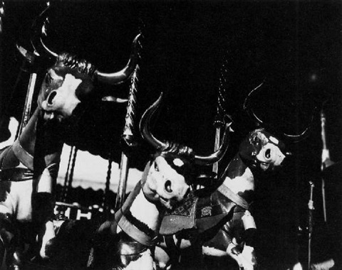 carousel cows by lee miller