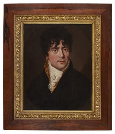 half length portrait of a gentleman by johann eberhard ihle