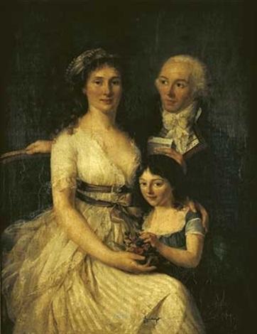 portrait de famille by marie victoire lemoine