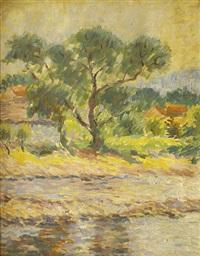drzewo nad rzeką by franciszek rerutkiewicz