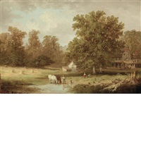 the old pennsylvania homestead by xanthus russell smith