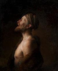 portrait of arild haaland by odd nerdrum