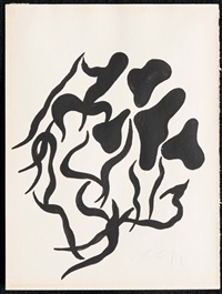 automatic drawing by jean/hans arp