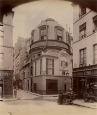 hôtel colbert, paris ve by eugène atget