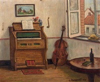 le salon de musique by louis thevenet