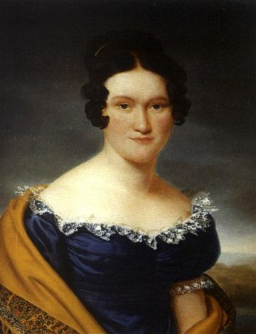 portrait de femme au châle by henri françois riesener