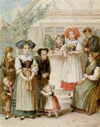 besuch der grossmutter by albert kretzschmer