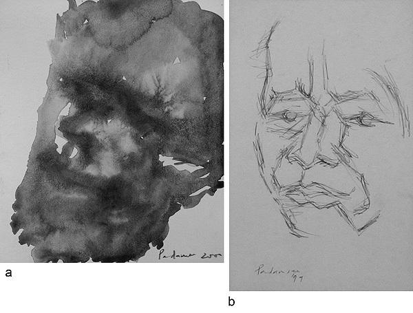 untitled (2 works) by akbar padamsee