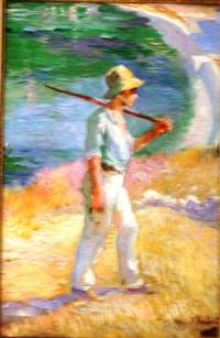 petit pêcheur by charles leroy saint-aubert