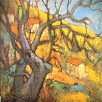 paysage d'automne by boris kaploun
