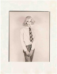 andy warhol from the altered image series by christopher makos