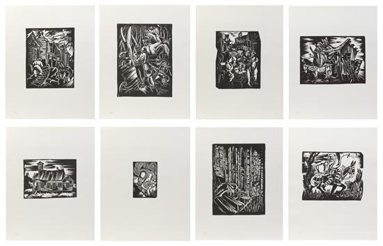 selections from the atlanta period portfolio of eight by hale aspacio woodruff