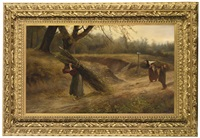 the wood gatherers by william charles anthony frerichs