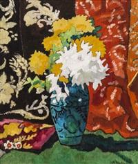 fleurs dans un vase by louis valtat