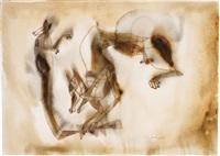 coyote y zarigüeña (coyote & opossum) by francisco toledo