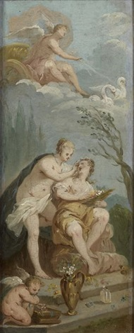 la toilette de vénus pair by etienne jeaurat