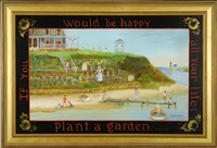 if you would be happy all your life, plant a garden by elizabeth mumford