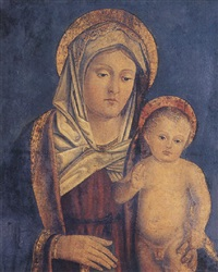 madonna and child by antonio badile