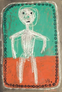 personnage by victor brauner