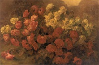 abundance of roses by josef pilters