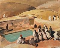 les bains de moulay yacoub by pierre gandon