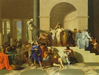 the triumph of bacchus by bertholet i flemal