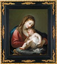 die madonna mit dem christuskind by johann jakob dorner the elder