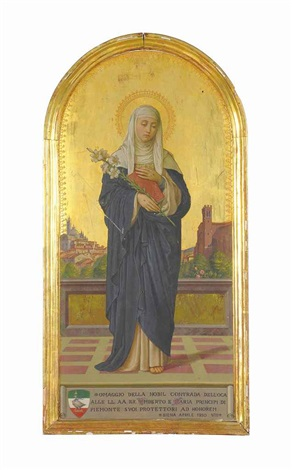 saint catherine of siena by vittorio giunti