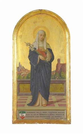 saint catherine of siena by vittorio giunti