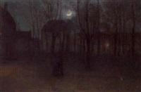 moonlight serenade by henri-aimé duhem