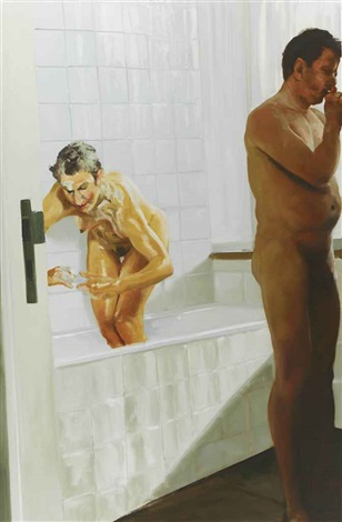 bathroom scene n3 by eric fischl