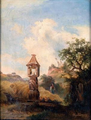marterl am ackerroan (-rain) by vinzenz kreuzer
