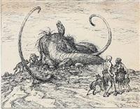 urtid mammut by louis maria niels peder halling moe