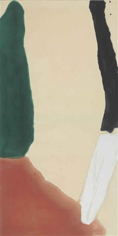 white makes four by helen frankenthaler