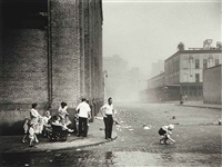 sandstorm, greenwich village by ruth orkin