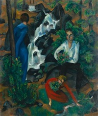 im walde (in the forest) by robert amrein