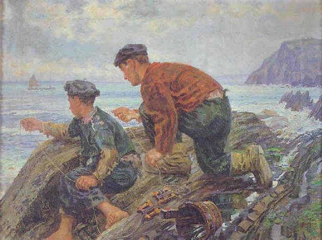 pescadores by inocente asarta