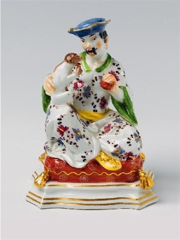 a meissen pagoda figure